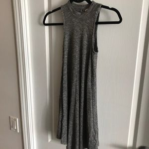 Hollister, Gray Mockneck Mini Dress, Sz XS